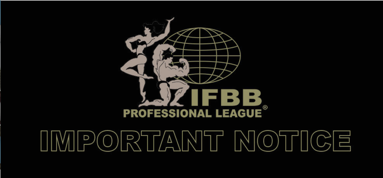 2018 IFBB Pro League Bikini Rules