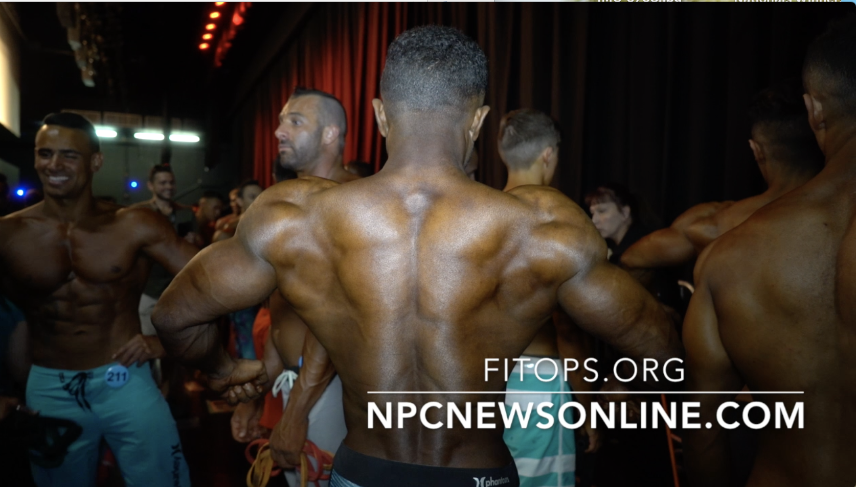 2017 NPC Amateur Olympia Men's Physique Backstage Video Part 1