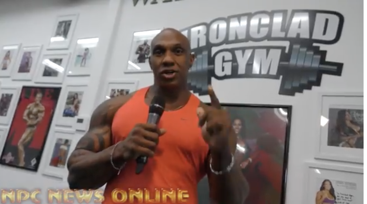 IFBB Pro Bodybuilder Ferlan Bailey Tip of the Day