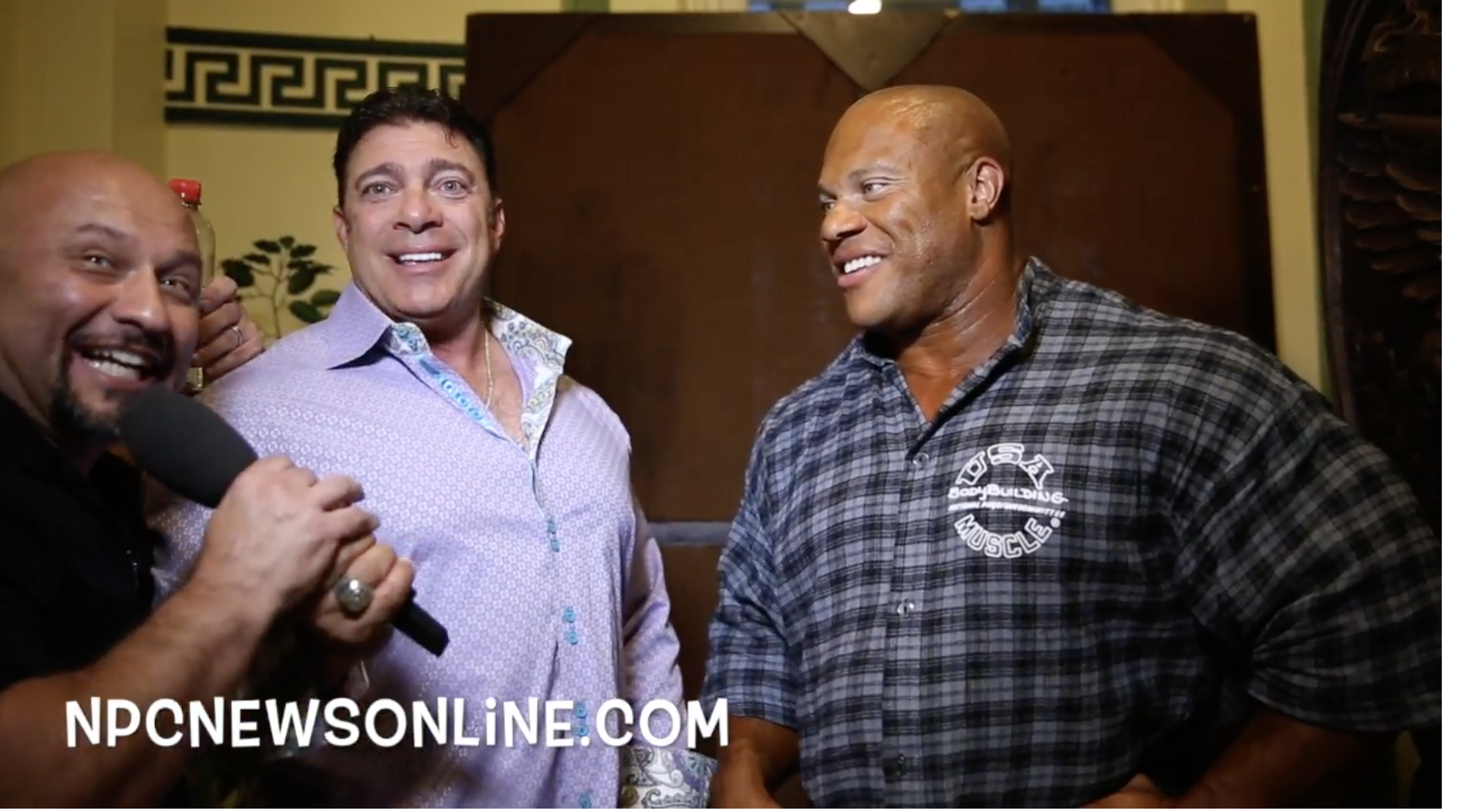 NPC NEWS ONLINE VIDEO BLOOPERS PART 1: Starring 4 IFBB Olympia Champions & More.