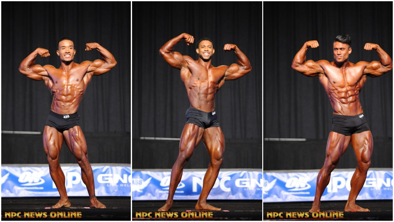 2017 NPC Jr.Nationals Men's Classic Physique IFBB (4) Pro Card Winners Gallery