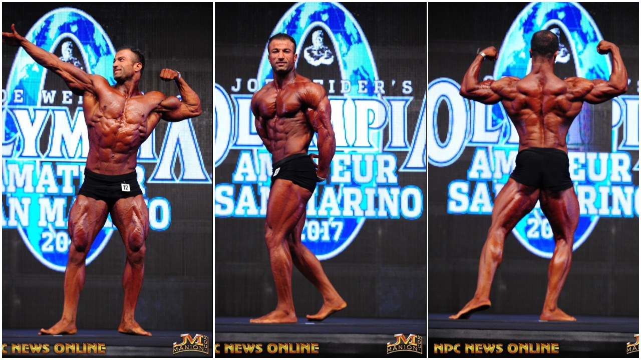 2017 AMATEUR OLYMPIA SAN MARINO: MEN'S CLASSIC PHYSIQUE PRO CARD WINNER SPOTLIGHT ALI SHAMSGHAMAR