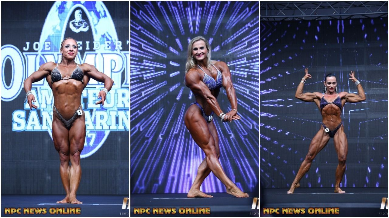 2017 AMATEUR OLYMPIA SAN MARINO: WOMEN'S PHYSIQUE PRO CARD WINNER PHOTO GALLERY
