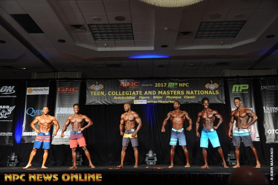2017 NPC TEEN COLLEGIATE & MASTERS NATIONAL CHAMPIONSHIPS MEN'S PHYSIQUE PRO CARD WINNER GALLERY
