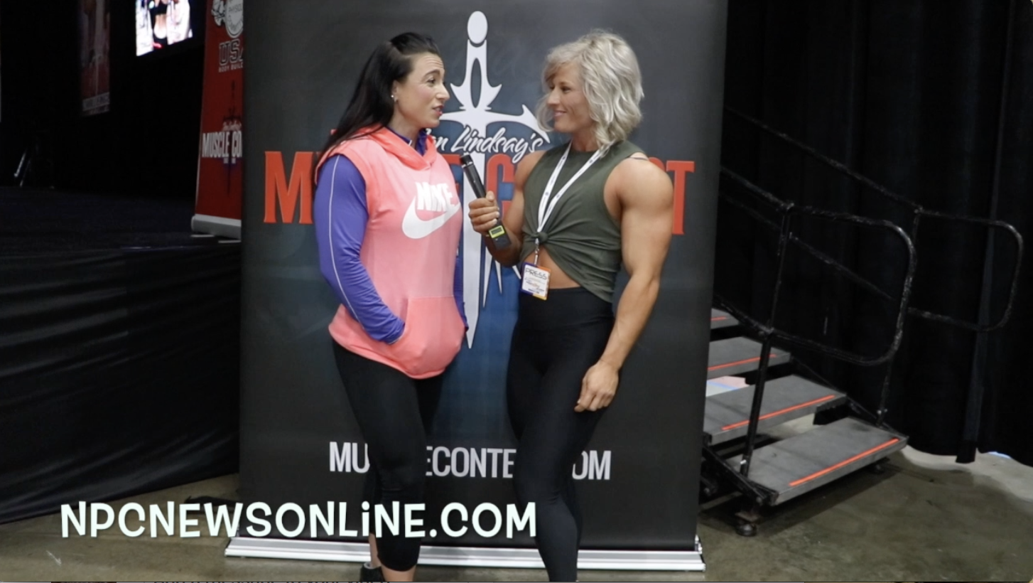 Interview With IFBB Women's Physique Pro Keri Ann Heitzman From The 2018 LA Fit Expo
