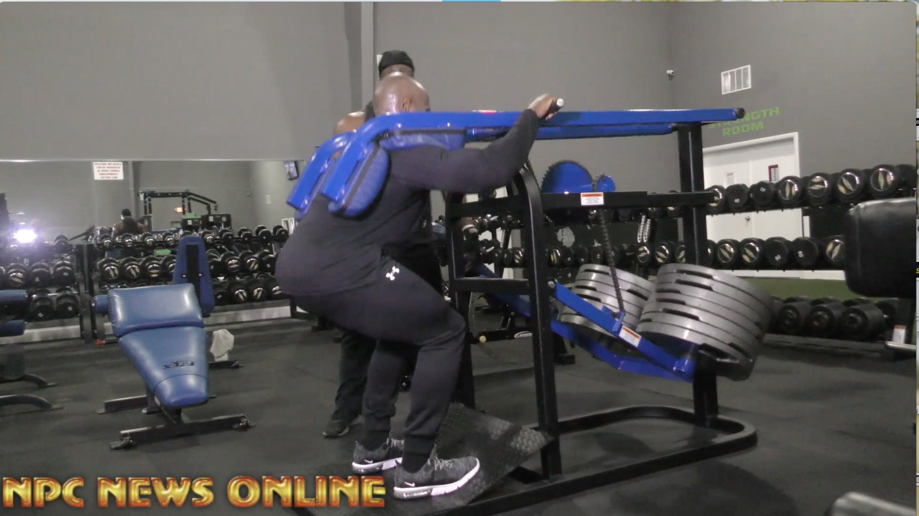 IFBB Classic Physique Pro Lee Banks Preps for the 2018 Arnold Classic With Travales Blount Video