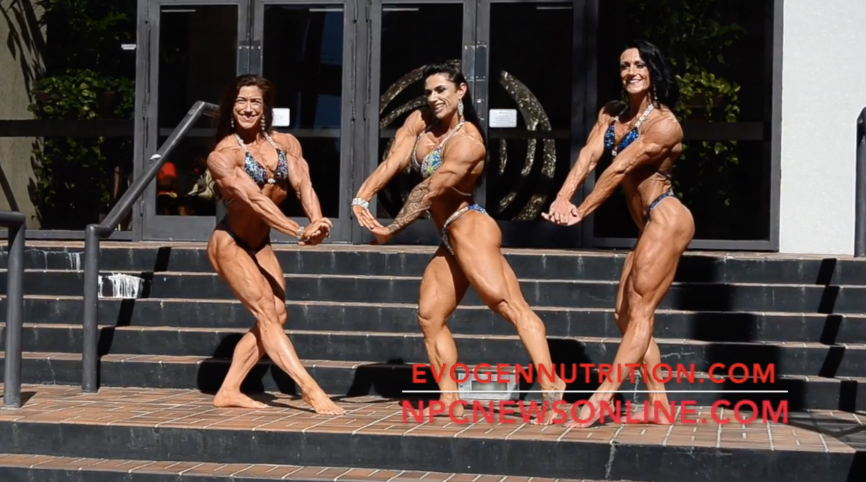 2017 J.M. Manion Sunday Shoot: NPC Nationals Women's Physique Winners Video