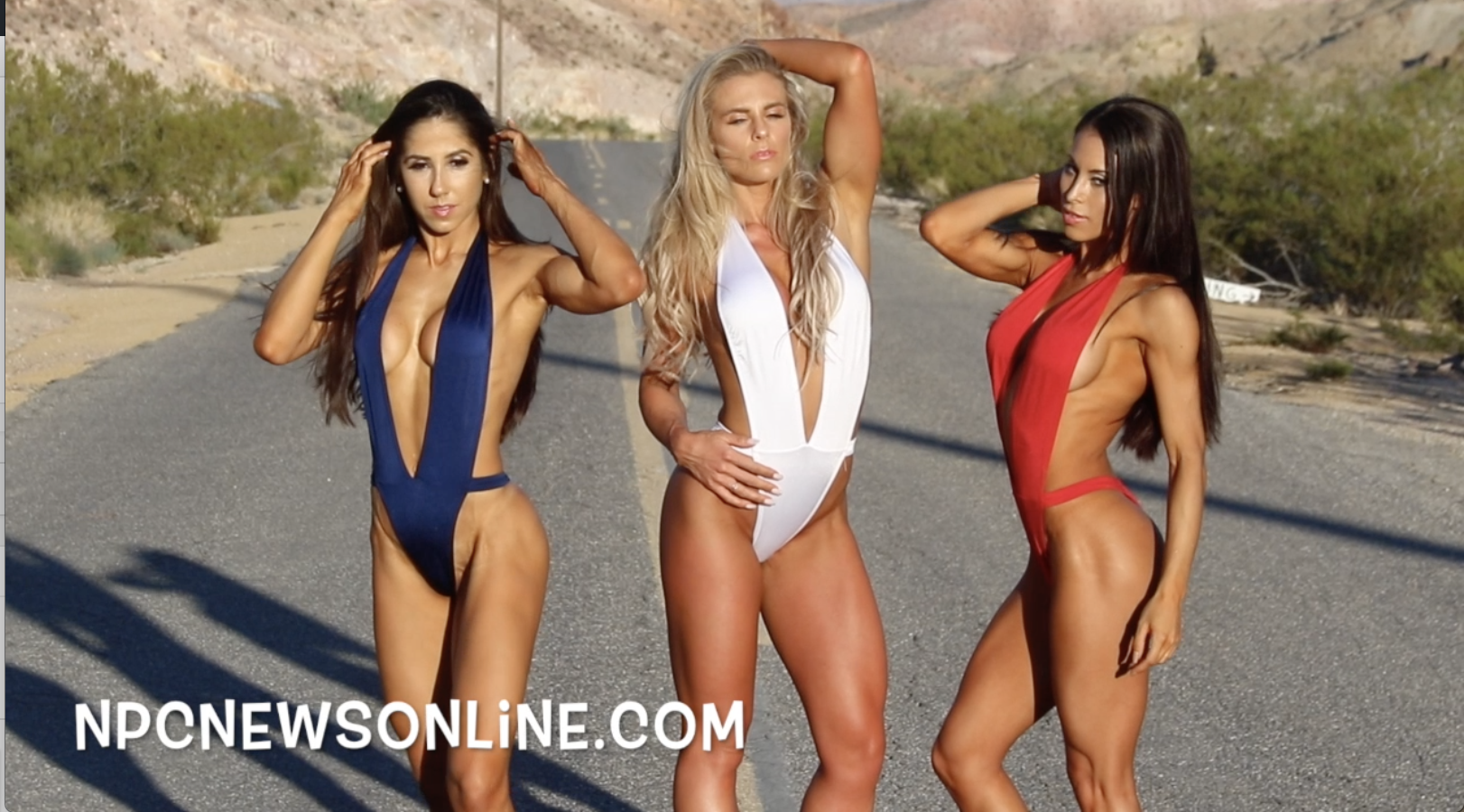 2017 J.M. Manion Nelson Ghost Town Video With IFBB Bikini Pro's Sheena Jayne Martin,  Romina Basualdo & Olympia Champion  Angelica Teixeira.
