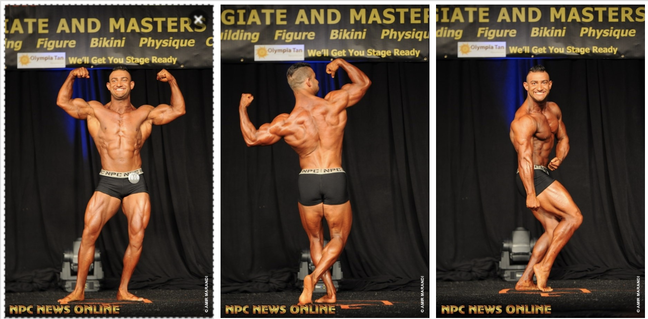 2017 NPC TEEN COLLEGIATE & MASTERS NATIONAL CHAMPIONSHIPS MEN'S CLASSIC PHYSIQUE PRO CARD WINNER GALLERY