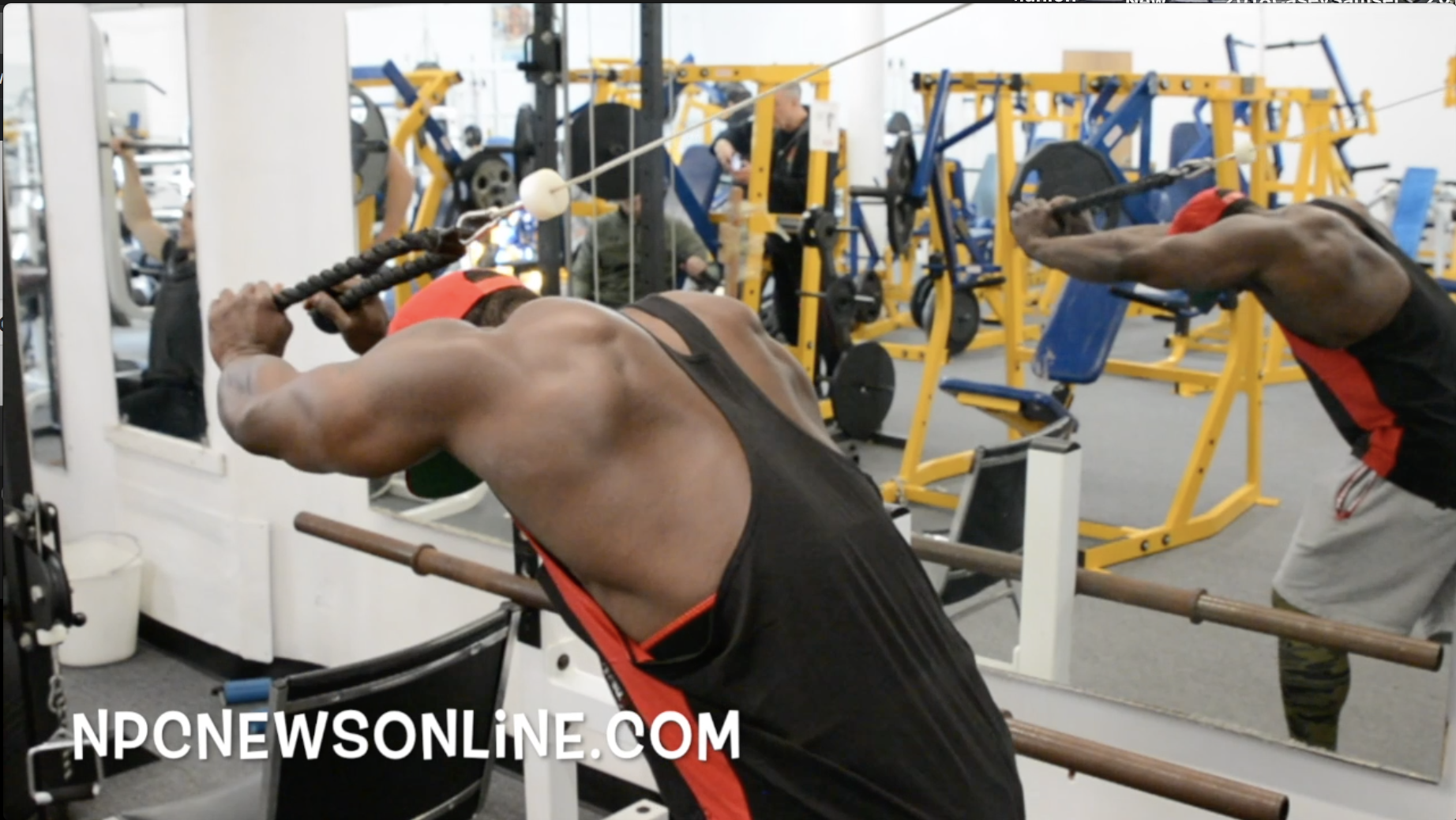 IFBB Men's Physique Pro George Brown: Arm Training Road To The 2018 Arnold Pt.4 Video