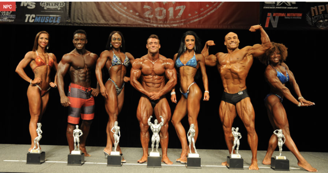 Natural Body Builder Physique