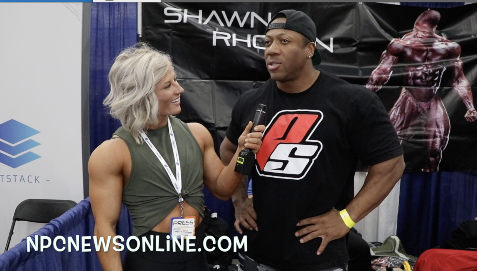Interview With IFBB Bodybuilding Pro Shawn Rhoden From The 2018 LA Fit Expo