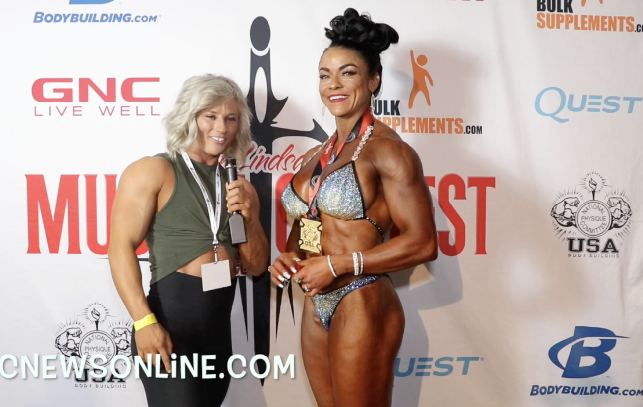 2018 NPC Muscle Contest Challenge Women's Physique Winner Susan Ramirez Arellano Contest Video