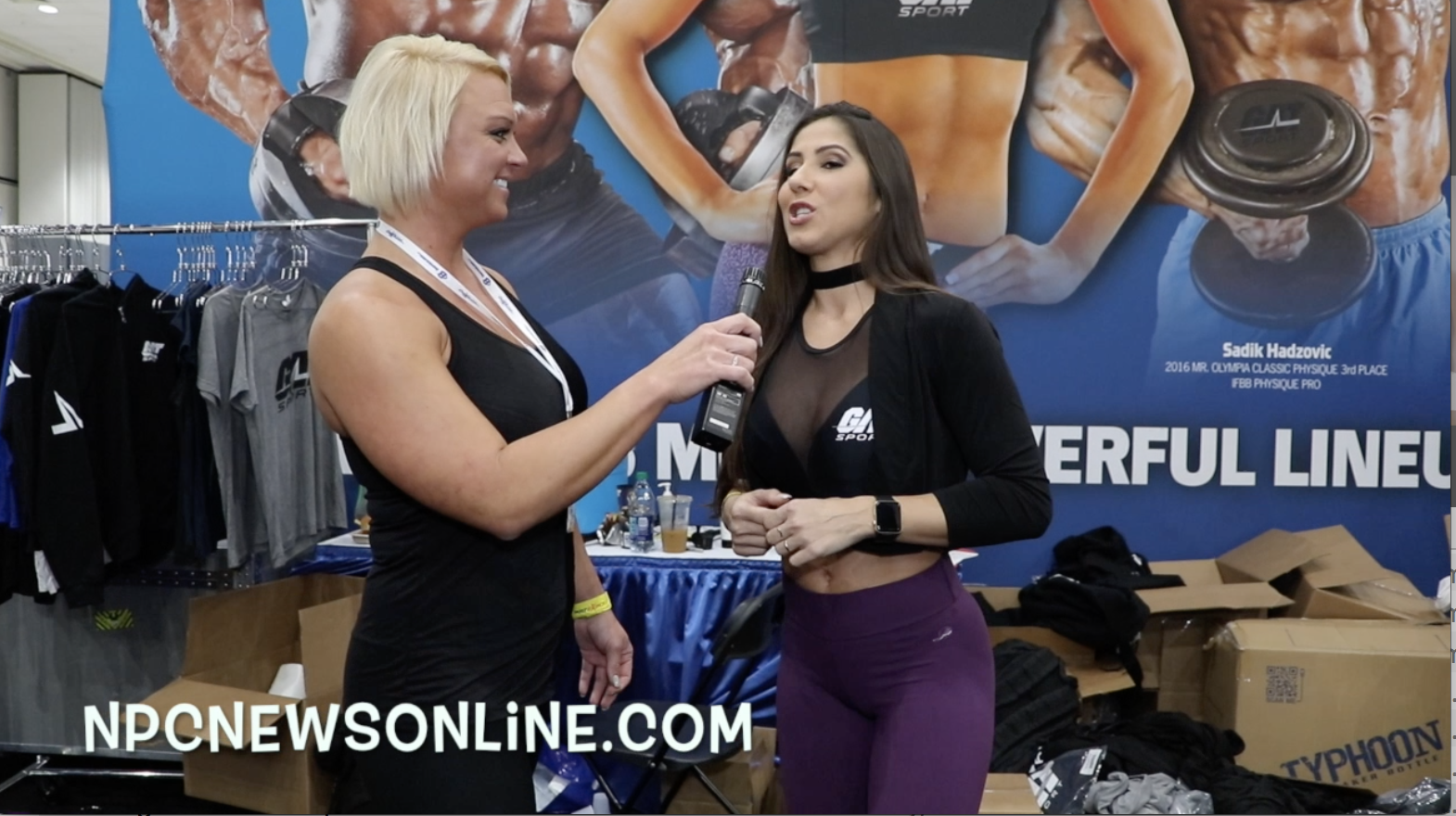 Interview With IFBB Women's Bikini Olympia Champion Angelica Teixeira From The 2018 LA Fit Expo