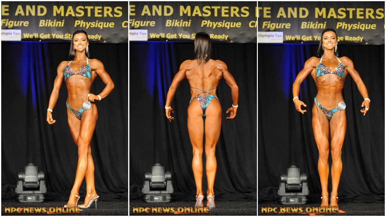 2017 NPC TEEN COLLEGIATE & MASTERS NATIONAL CHAMPIONSHIPS WOMEN'S FIGURE PRO CARD WINNERS
