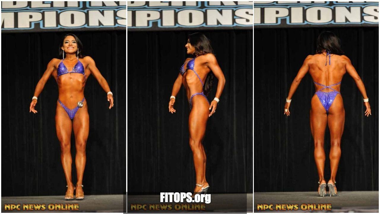 Fitops Graduate Class: NPC Bikini Competitor Itzel Volino Contest Gallery