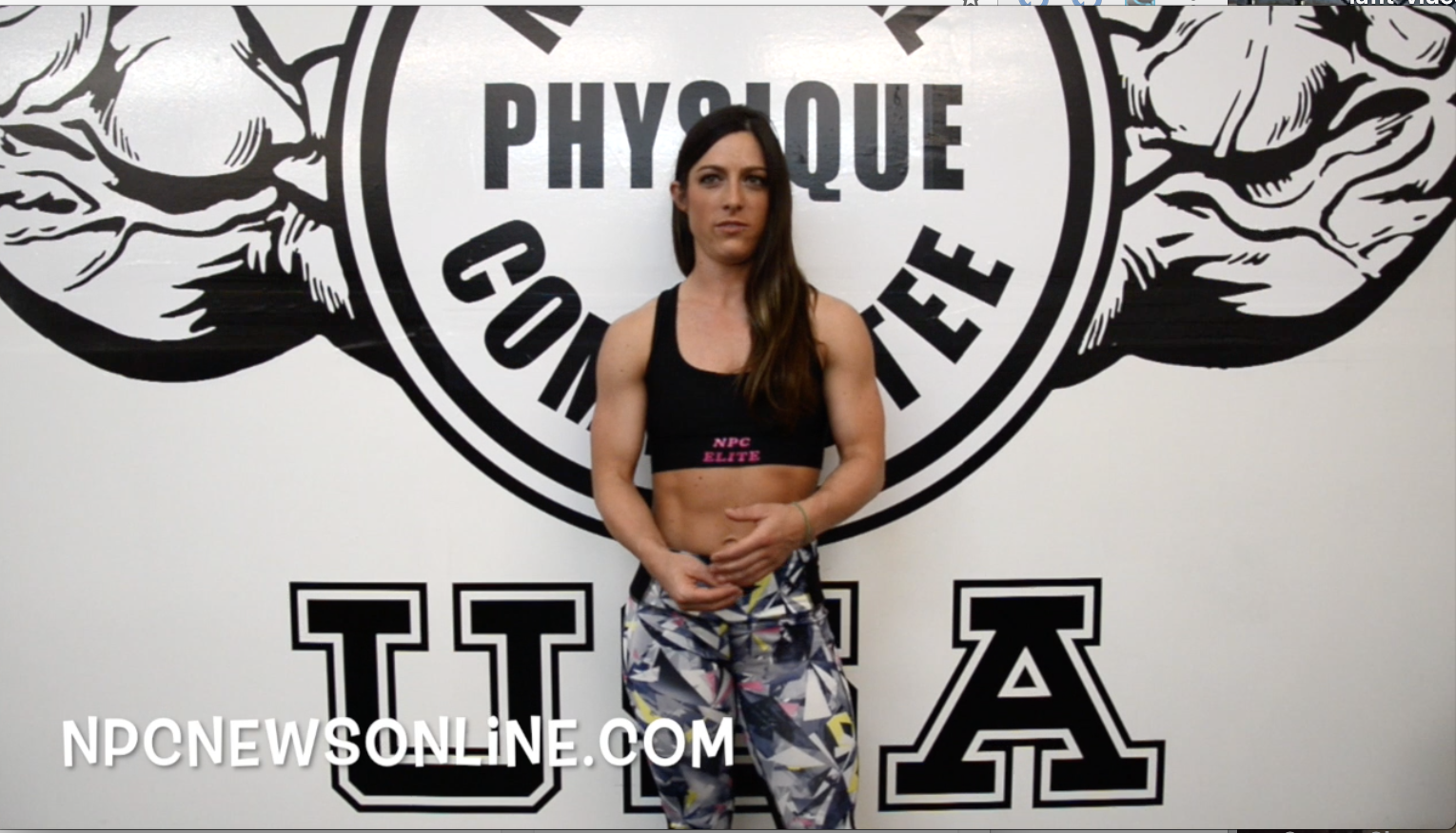 IFBB Fitness Pro Sara Kovach IFBB Pro Card Journey Video