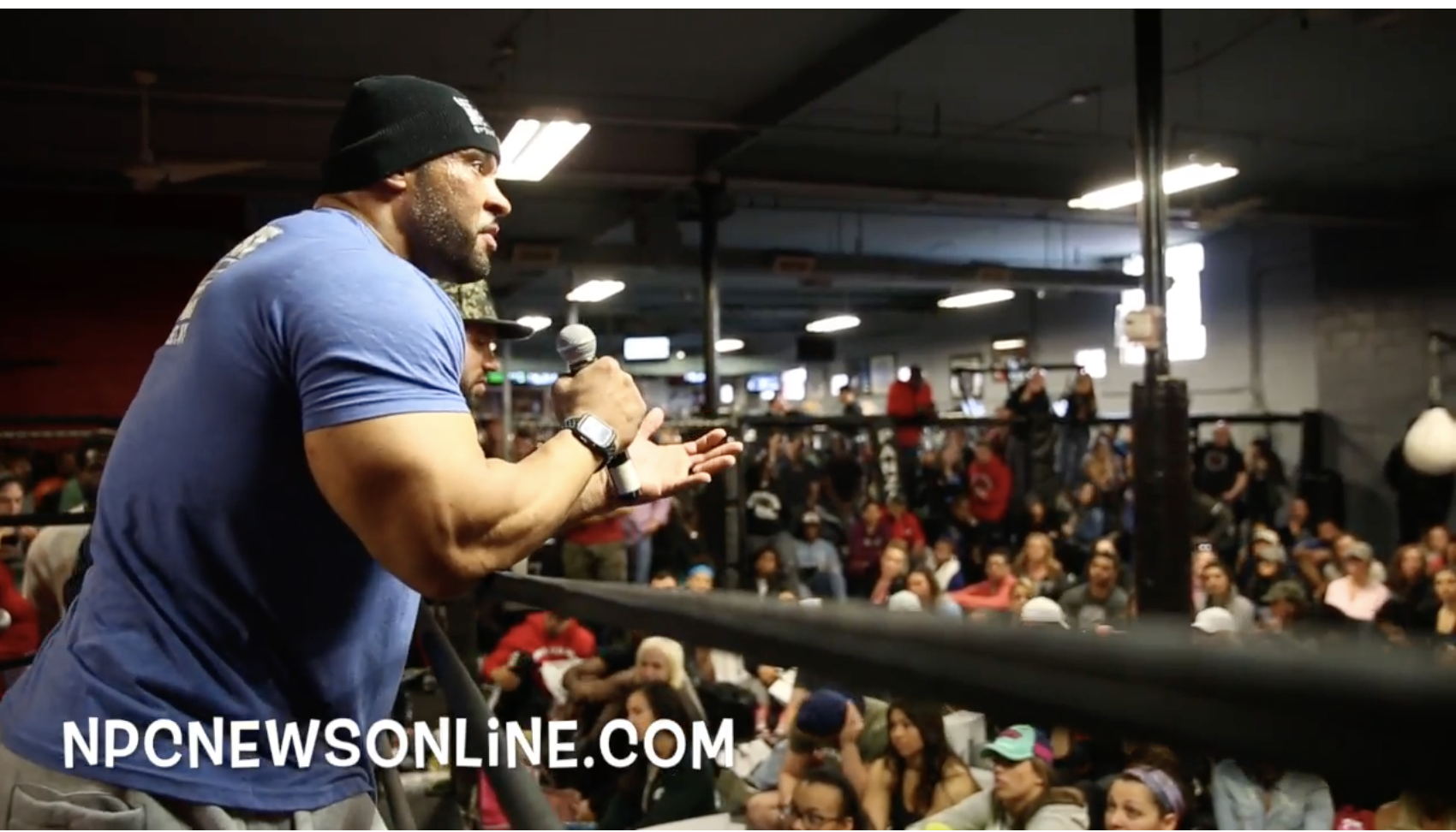 IFBB Pro Bodybuilder's Jon Delarosa & IFBB Pro Juan Morel At The 2018 Bev Francis NPC Workshop doing Q & A. Pt.2