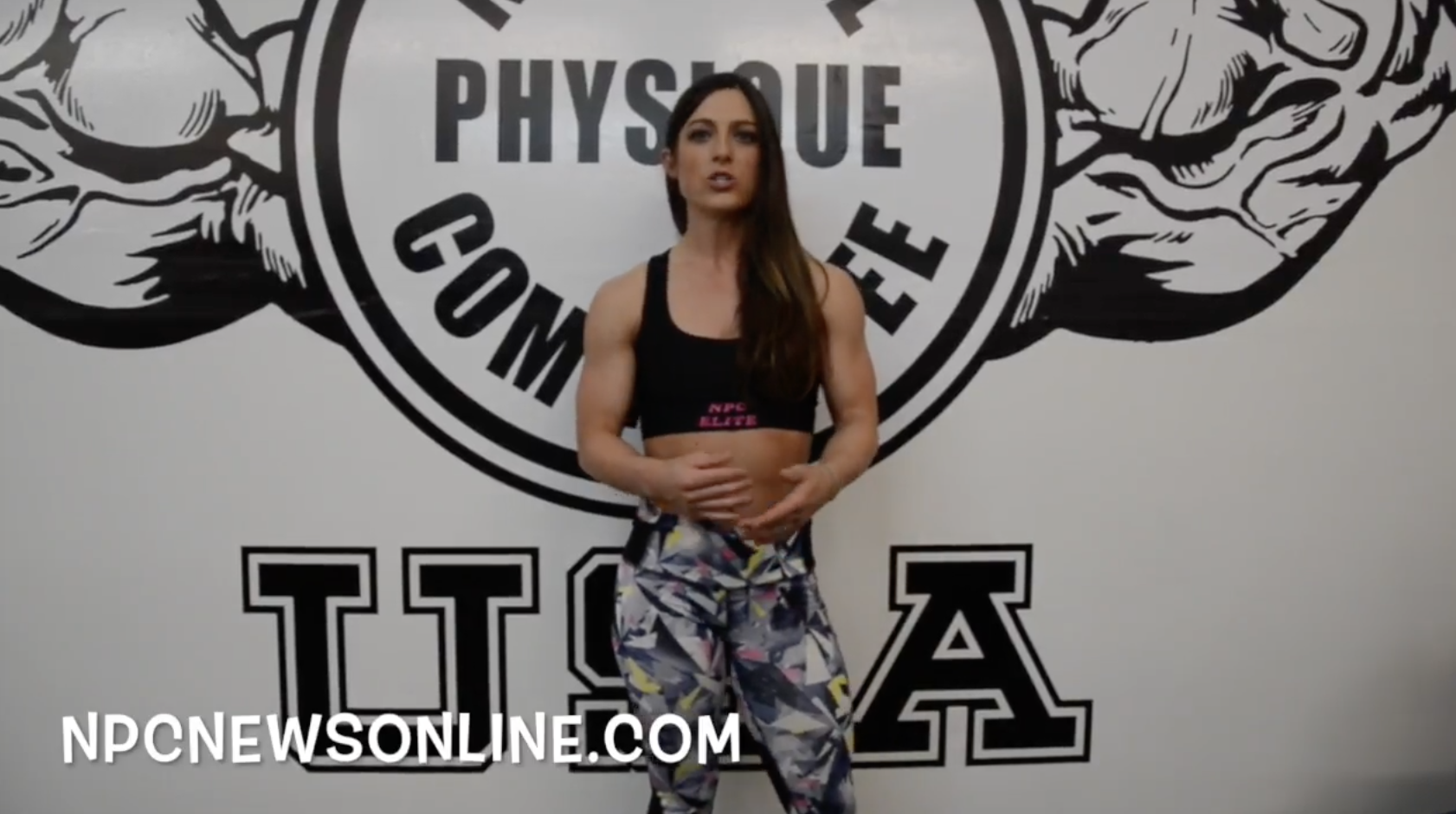 IFBB Fitness Pro Sara Kovach Fitness Tip For Up & Coming Competitors