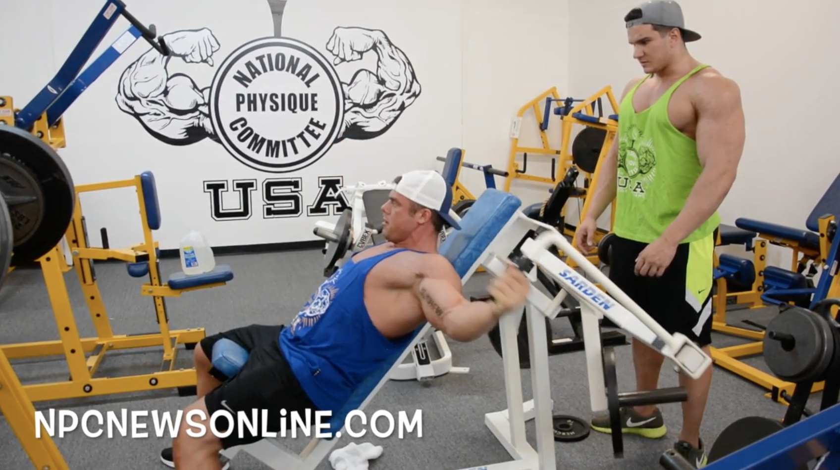 NPC Bodybuilder's Silas Merkel & Eric Wood Chest Workout Video