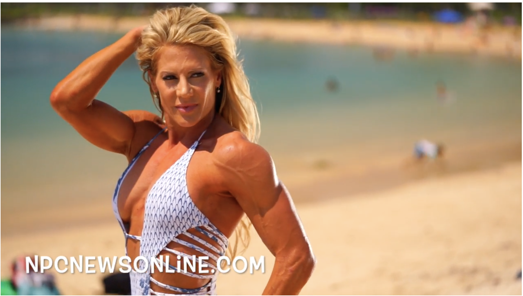 2017 J.M. Manion Hawaii Shoot: IFBB Fitness Pro Whitney Jones Behind The Scenes Video