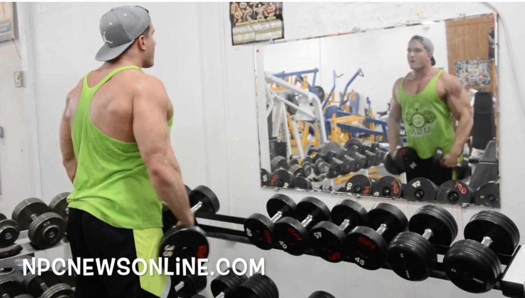 NPC Bodybuilder's Silas Merkel & Eric WoodDelts Workout Video