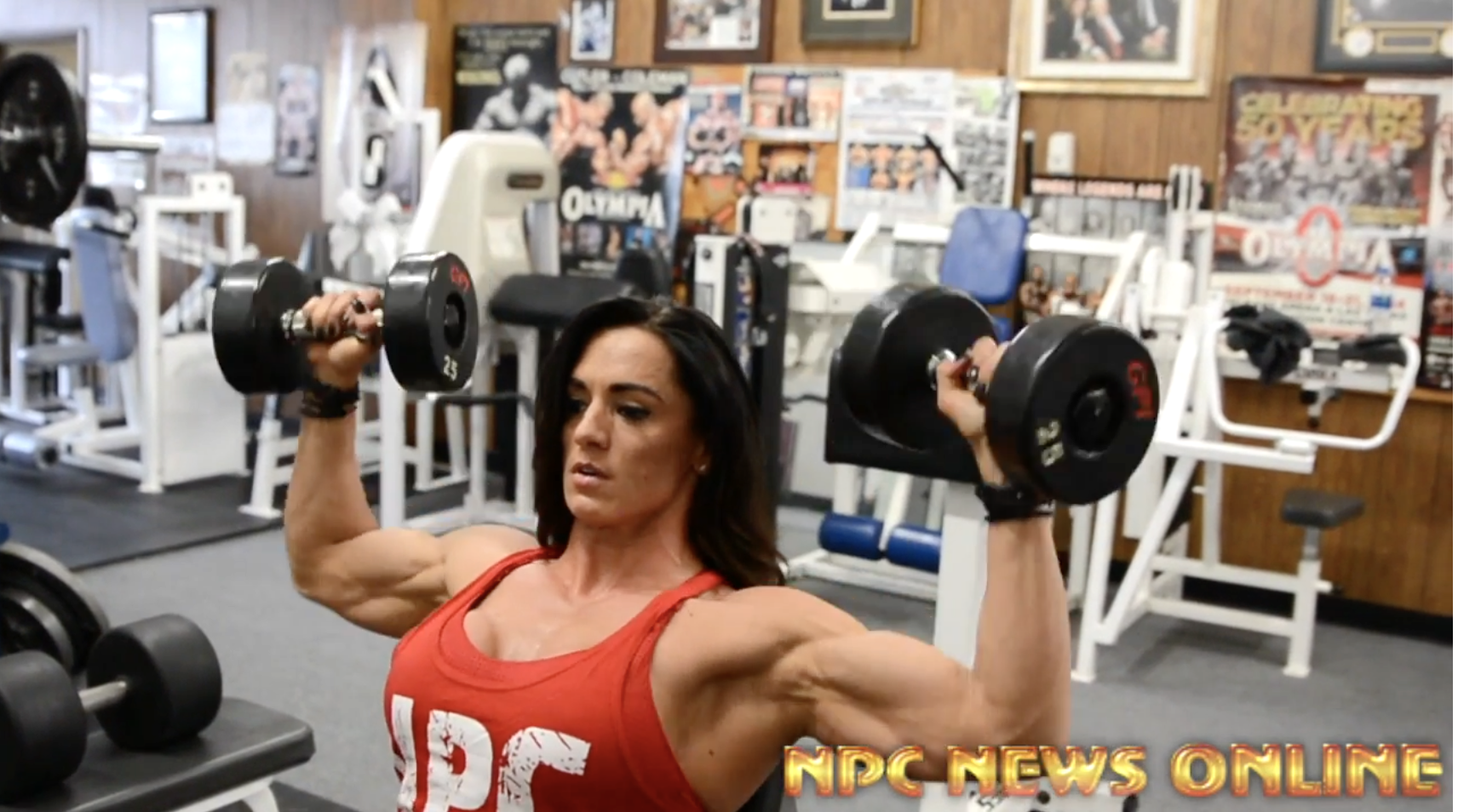 IFBB Figure Pro Heather Dees Shoulder Workout. Road To The Arnold 2018