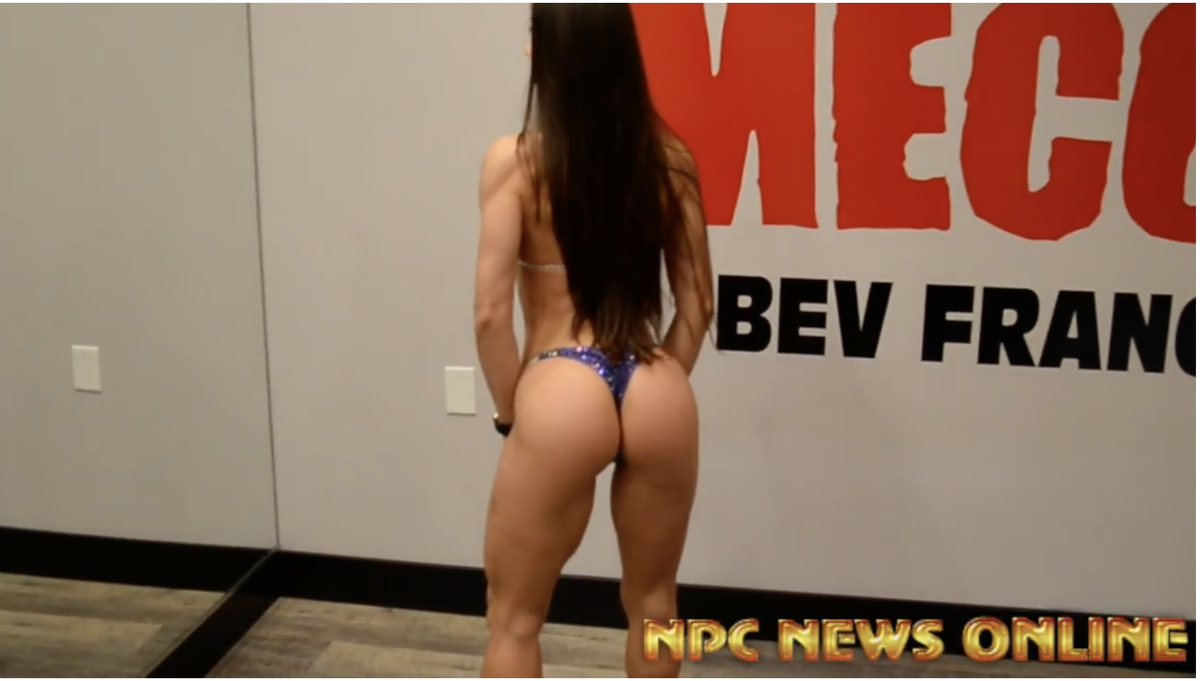 Angelica Teixeira Olympia & Arnold Bikini Champ Posing Two Weeks Out From The 2018 Arnold