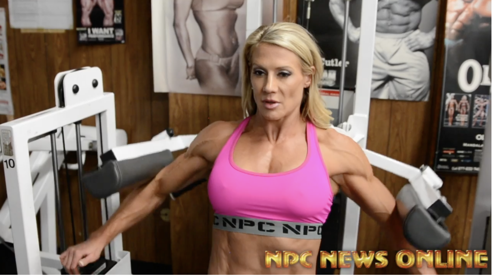IFBB Fitness Pro Whitney Jones Shoulder Workout Video For The 2018 Arnold