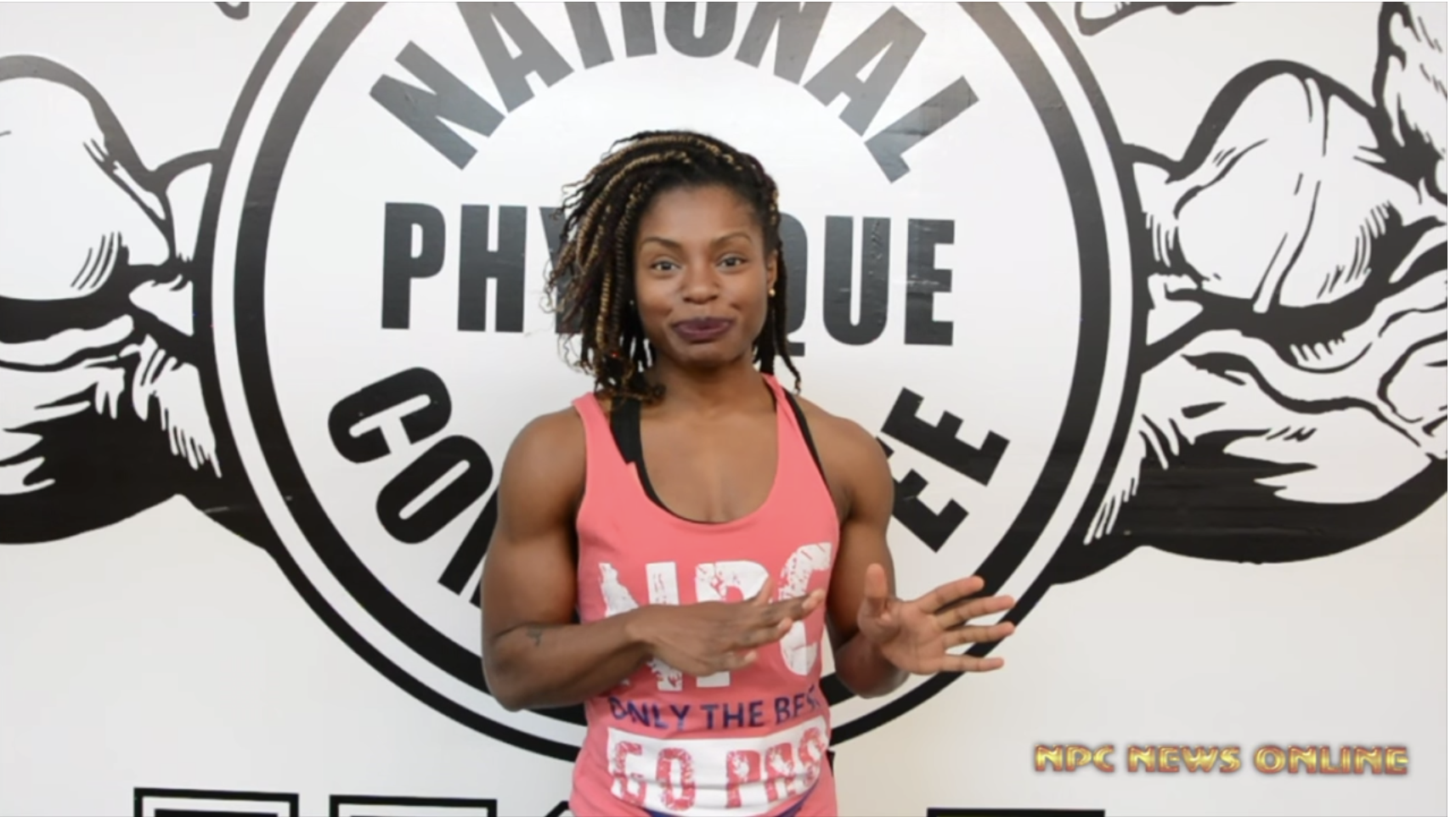 IFBB Figure Oympia Champ Cydney Gillon The Thing I Wish I Knew Video: Eat Carbs & Get Lean