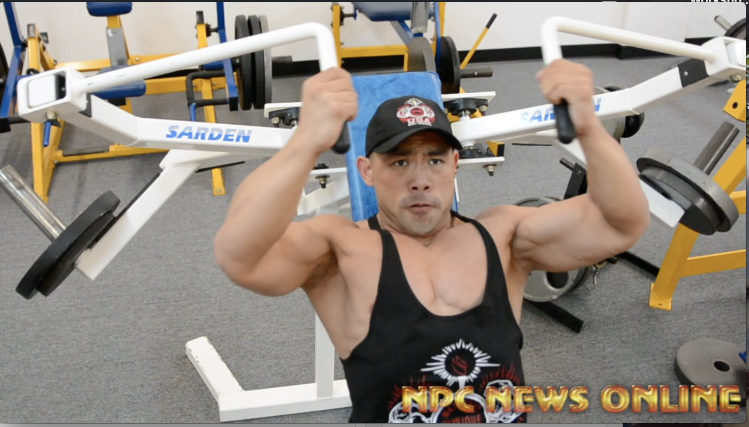 Road To The 2018 Arnold Amateur Bodybuilder Tom Weixu Chest/Triceps Workout