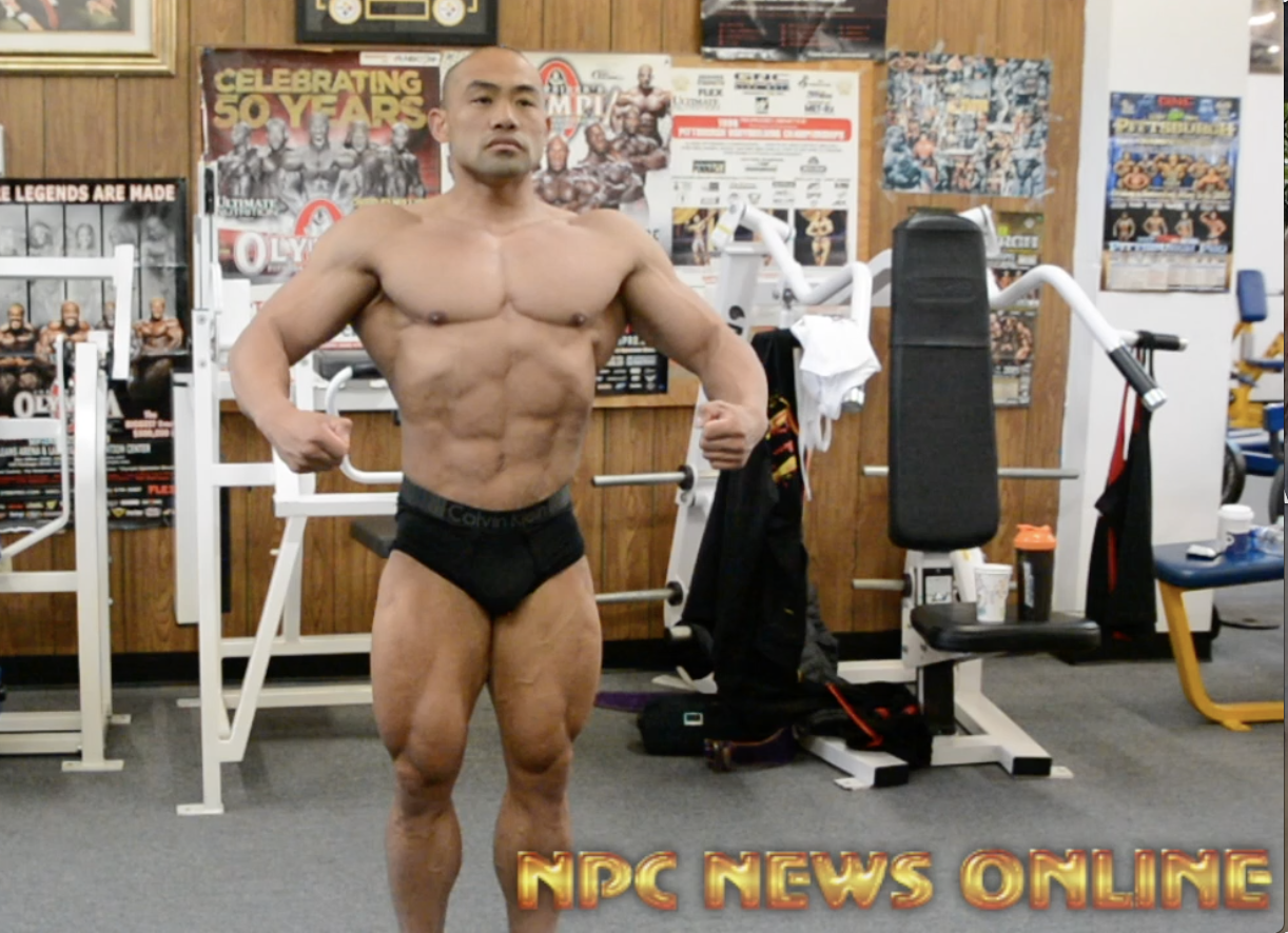 Road To The 2018 Arnold Amateur Bodybuilder Tom Weixu Posing Practice