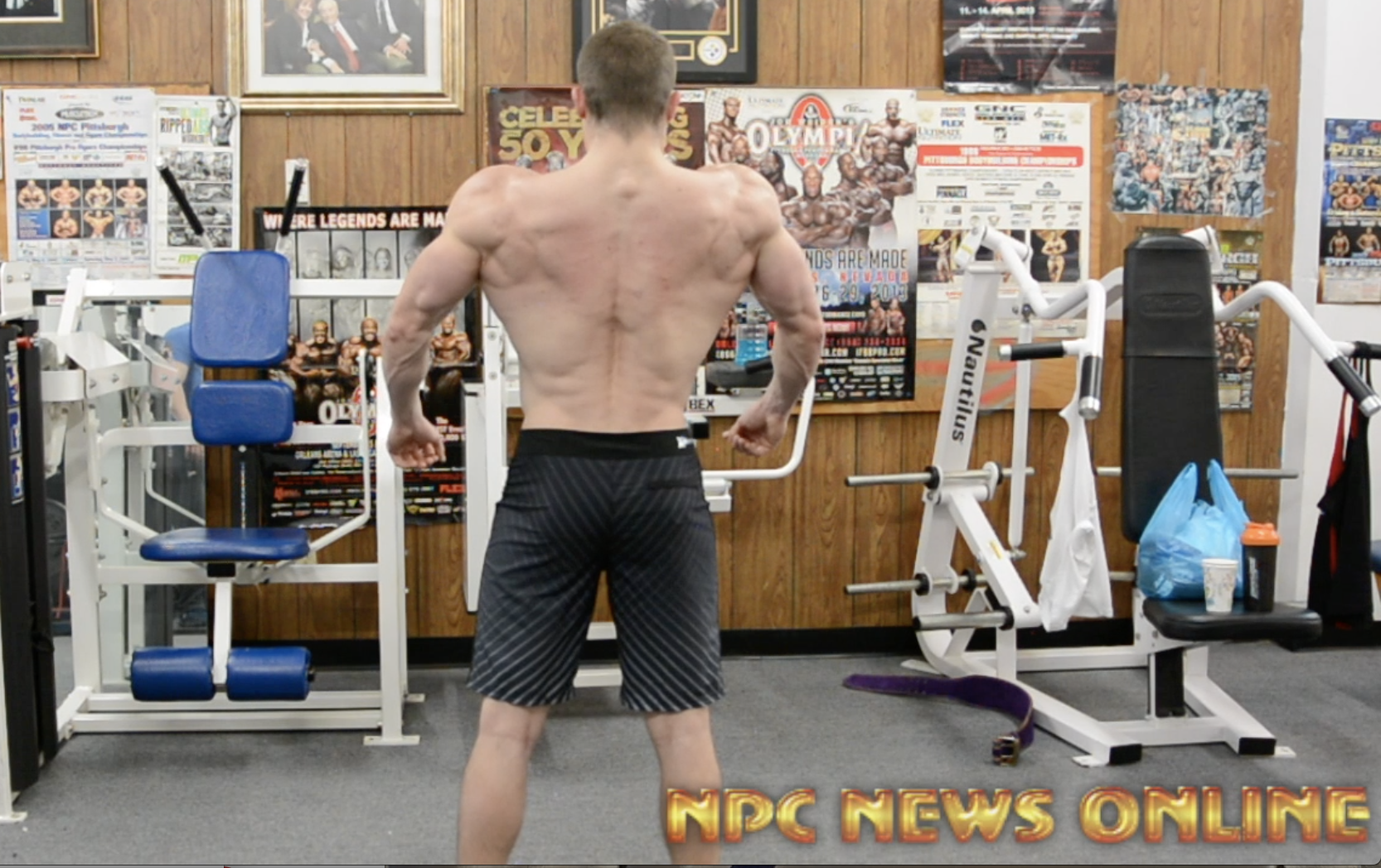 Road To The 2018 Amateur Arnold: Men's Physique Competitor David Brody Posing Practice