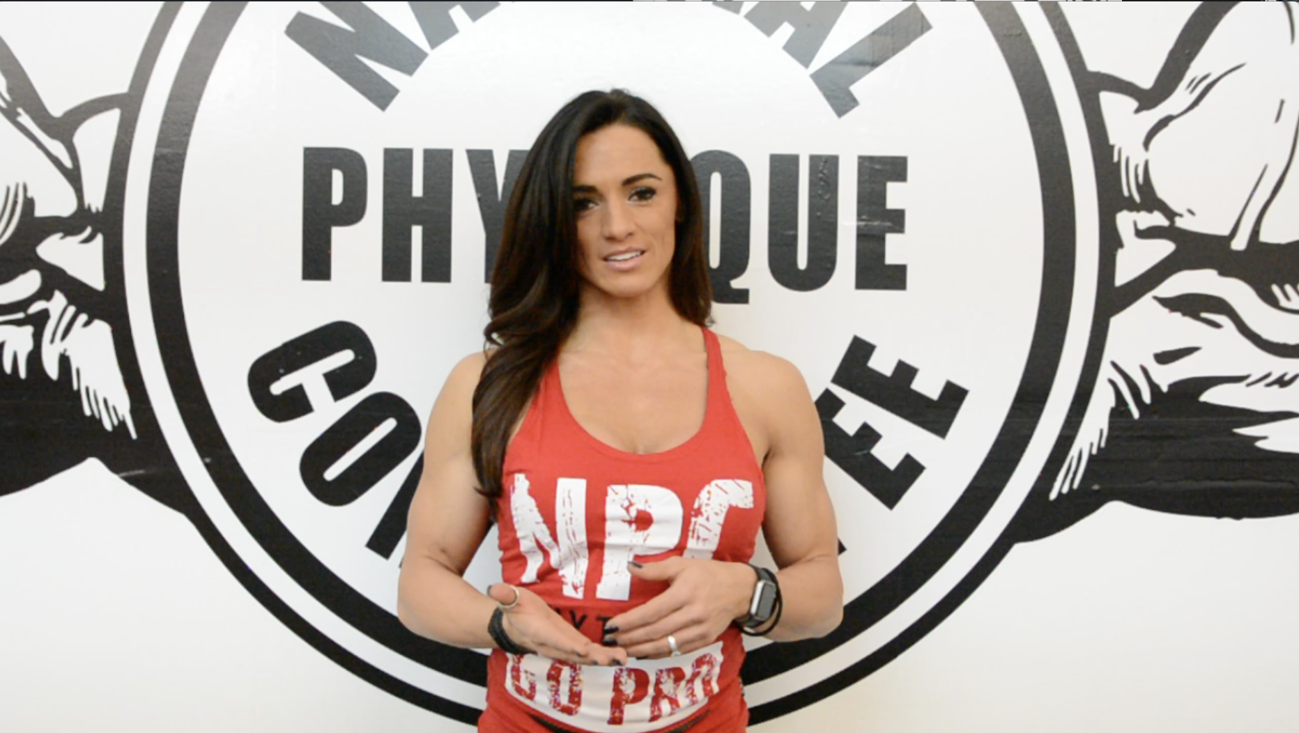 IFBB Figure Pro Heather Dees: 2018 Road To The Arnold Video