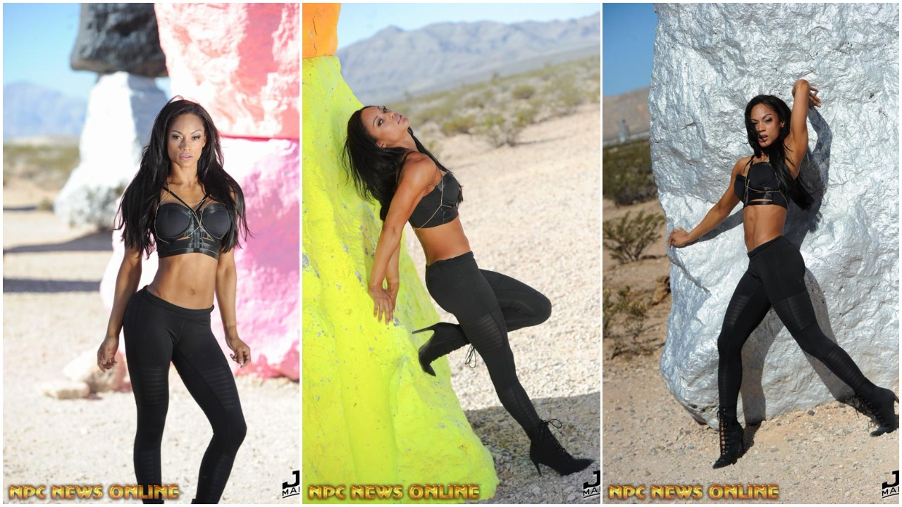 Bikini Beach Bodies:Breena Martinez – Seven Magic Mountains Photo Gallery By J.M. Manion