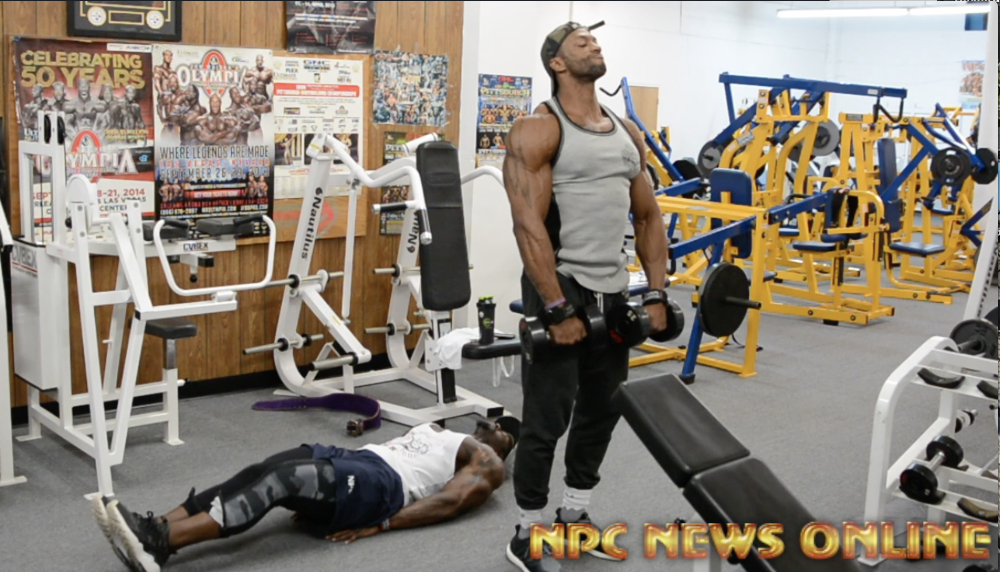Road To the Arnold 2018 Shoulder Workout: IFBB Men's Physique Pro's Ray Edmonds, George Brown & NPC Competitor Aladino DInardo