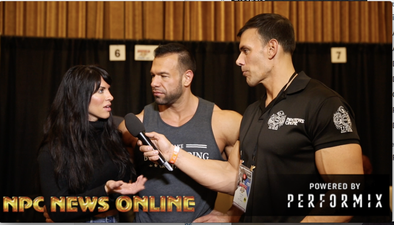 IFBB Pro's Steve & Amanda Kuclo At The 2018 Arnold Classic Interviewed By Frank Sepe