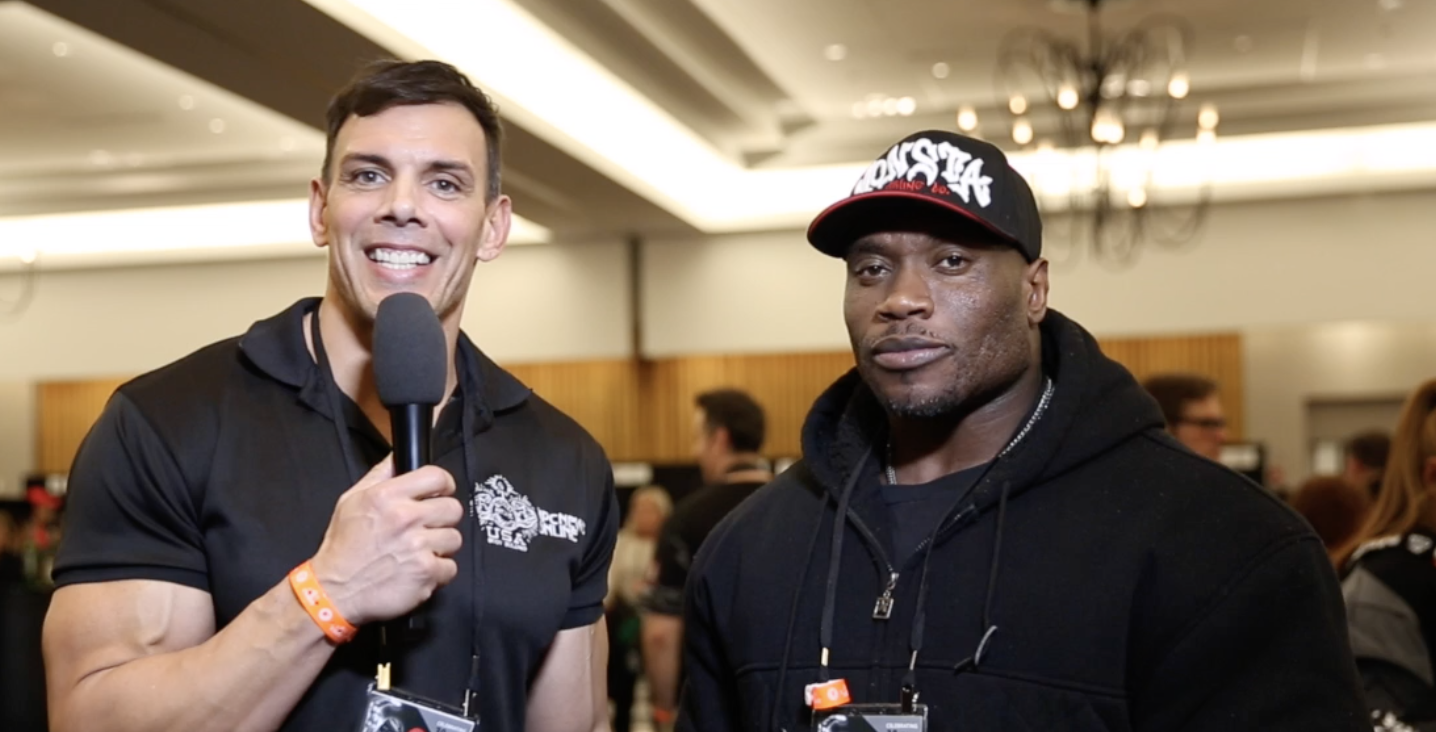 IFBB Bodybuilder Maxx Charles At The 2018 Arnold Classic Interviewed by  NPC News Online Editor In Chief Frank Sepe
