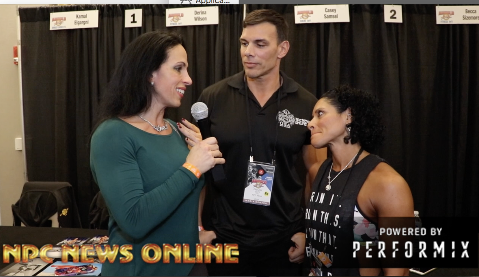 IFBB Fitness Pro Derina Wilson Battles Cancer & Competing At The 2018 Arnold Classic