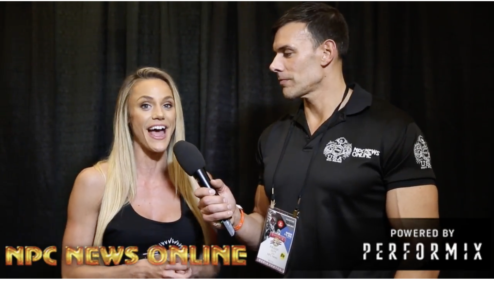 IFBB Bikini Pro Tawna Eubanks At The 2018 Arnold: Interviewed By Frank Sepe