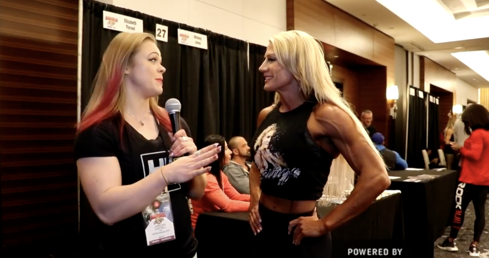 2018 Arnold Classic: IFBB Fitness Pro Whitney Jones Interviewed By Jordan Hartsell