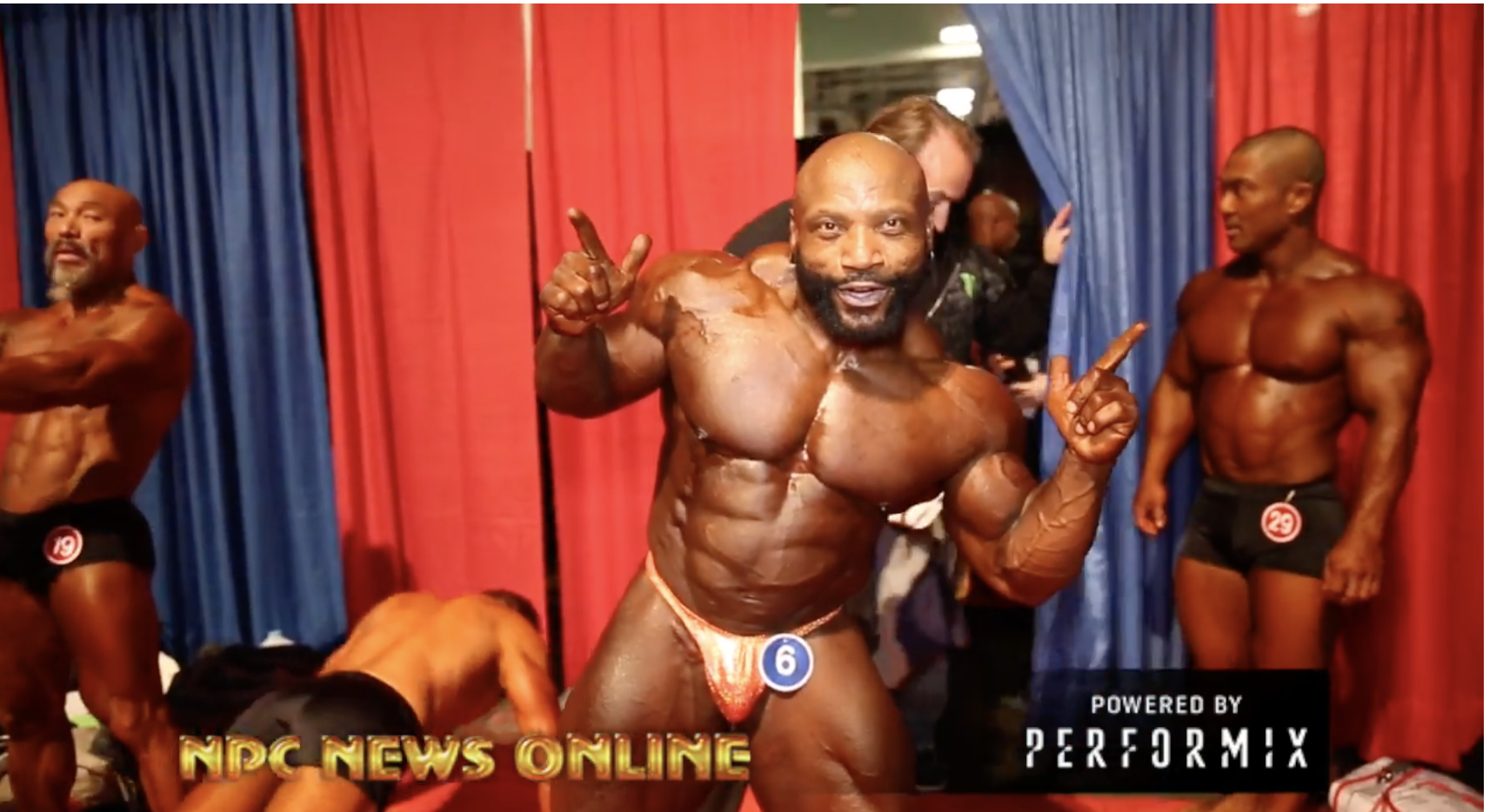 2018 Arnold Classic Men's 212 & Classic Physique  Prejudging Backstage Video
