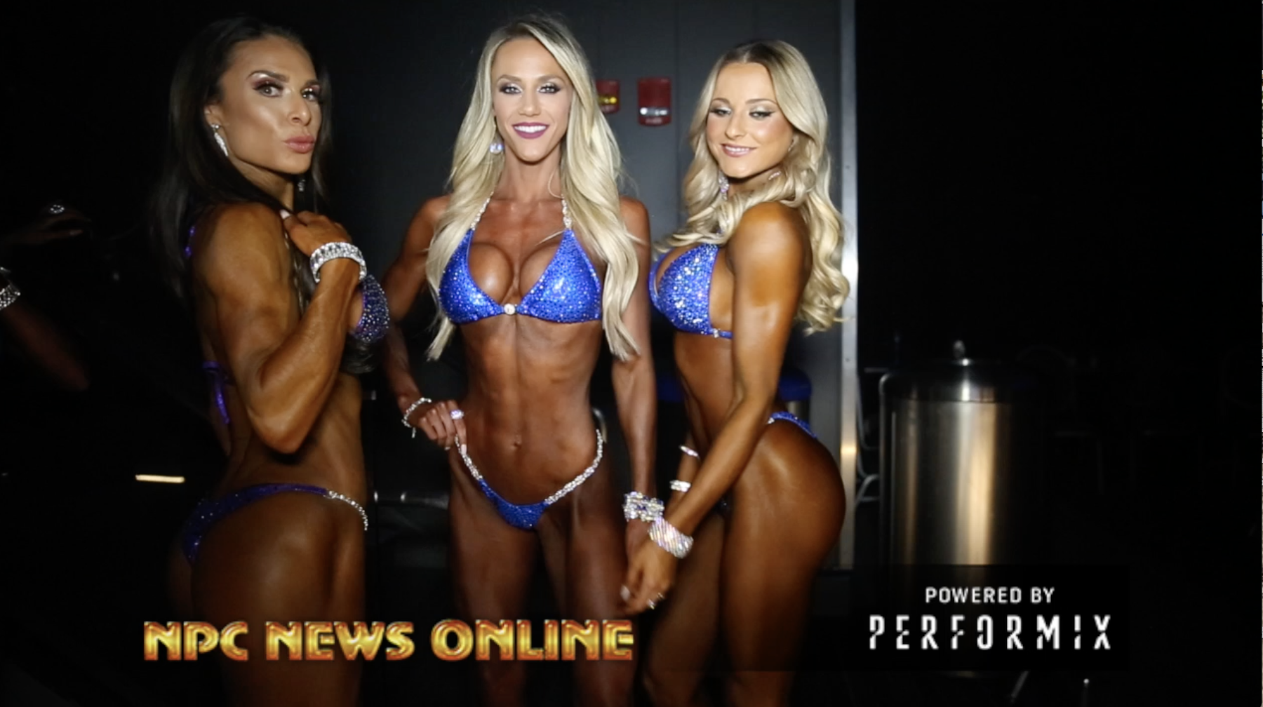 2018 Arnold Bikini International Backstage Finals Videos