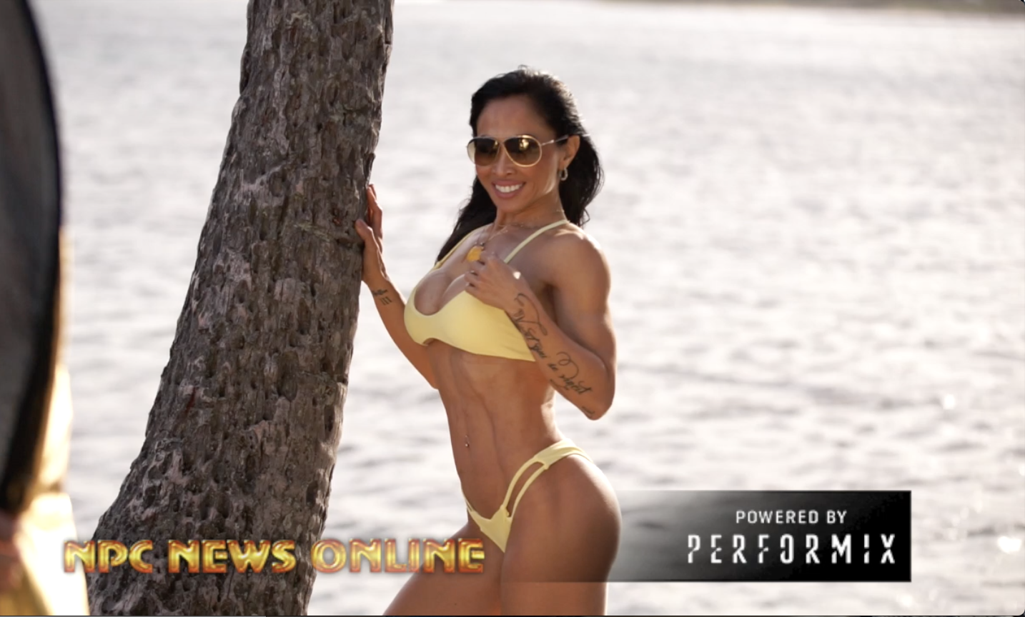 2018 J.M. Manion Hawaii Shoot Video With  IFBB Bikini Pro Geri Berger