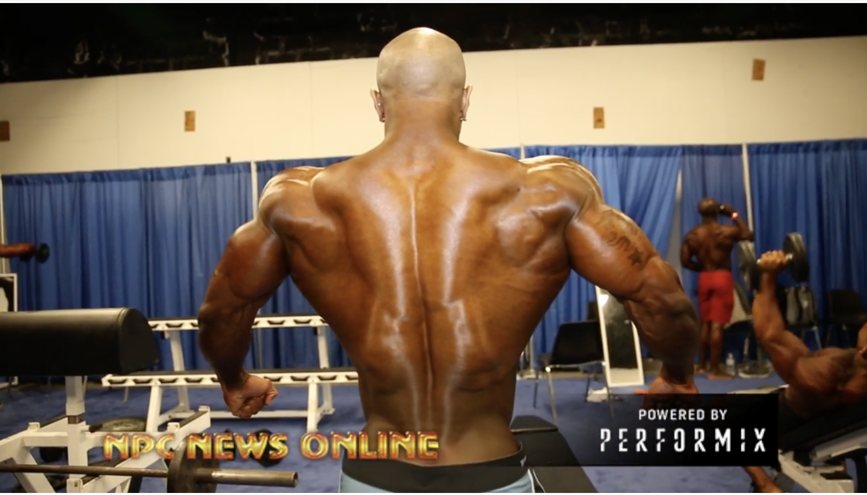 2018 Arnold Classic Men's Physique Backstage Part 1