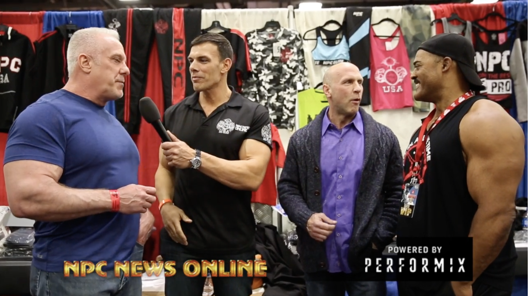 1993 NPC Nationals Reunion Video: Dean Caputo, Mike Francois & Don Long- Hosted By Frank Sepe