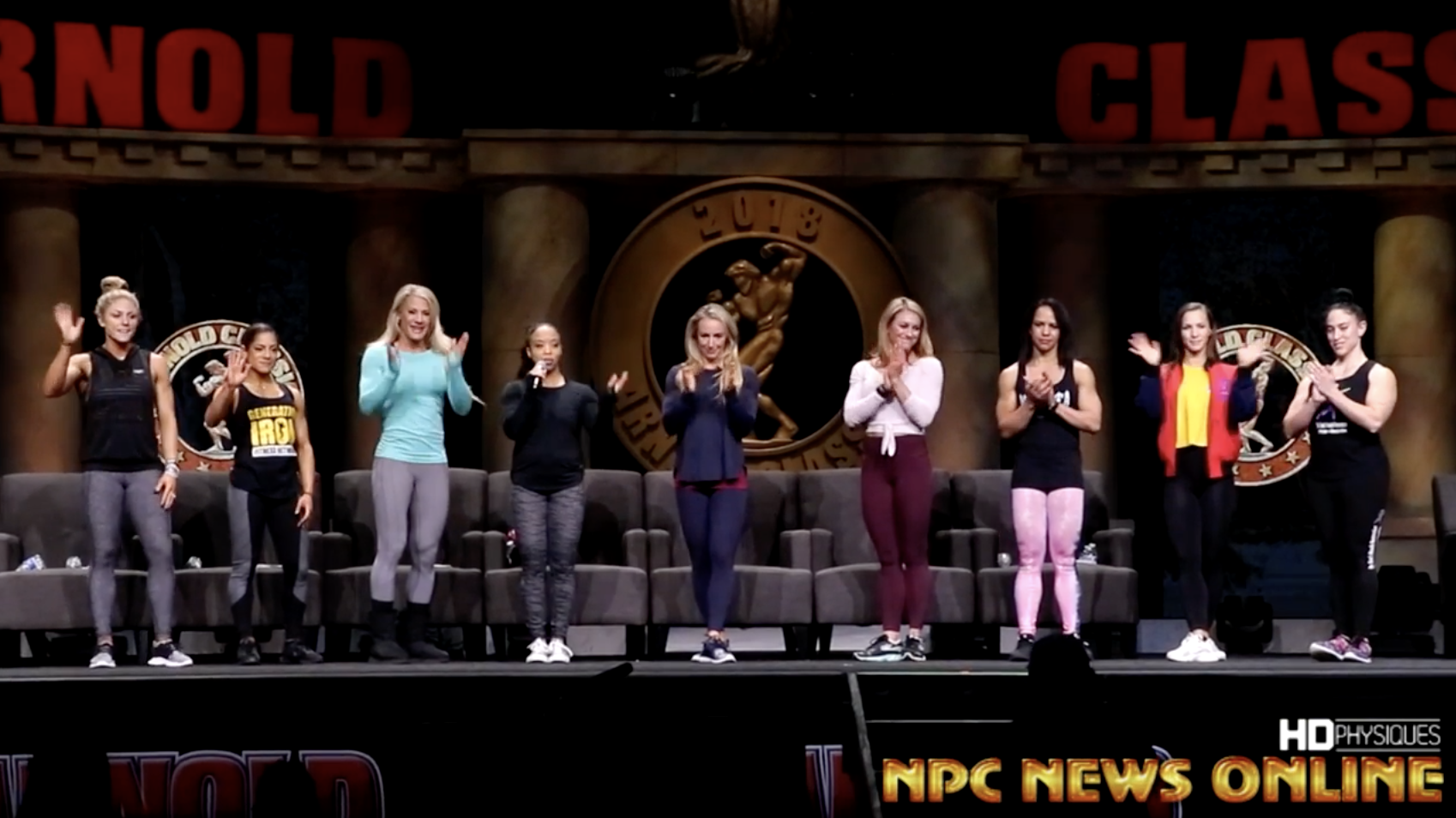2018 Arnold Fitness Seminar Video: Pro Fitness Competitors Give Advice To NPC & IFBB Pro League Fitness Competitors