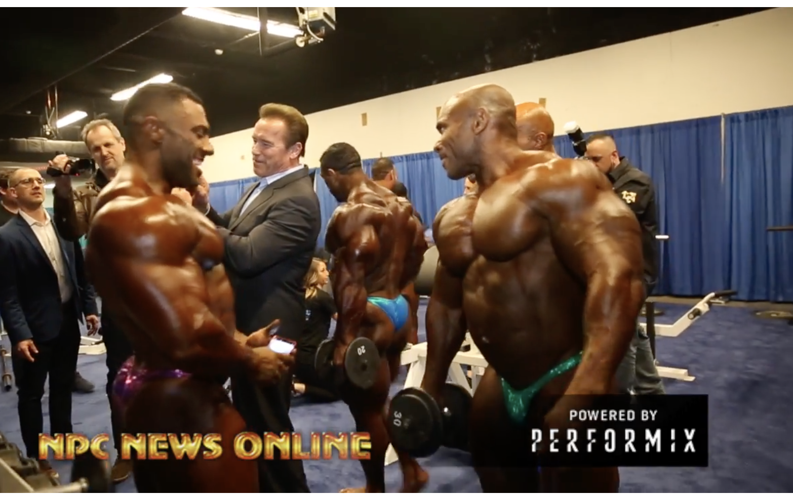 2018 Arnold Classic Bodybuilding Backstage Finals Video Part 2