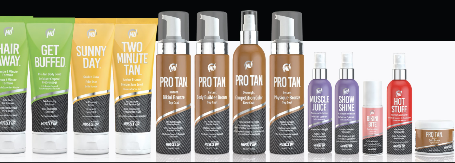 Have you ever thought about applying your own Competition Tan? Pro Tan® has you covered: See Video