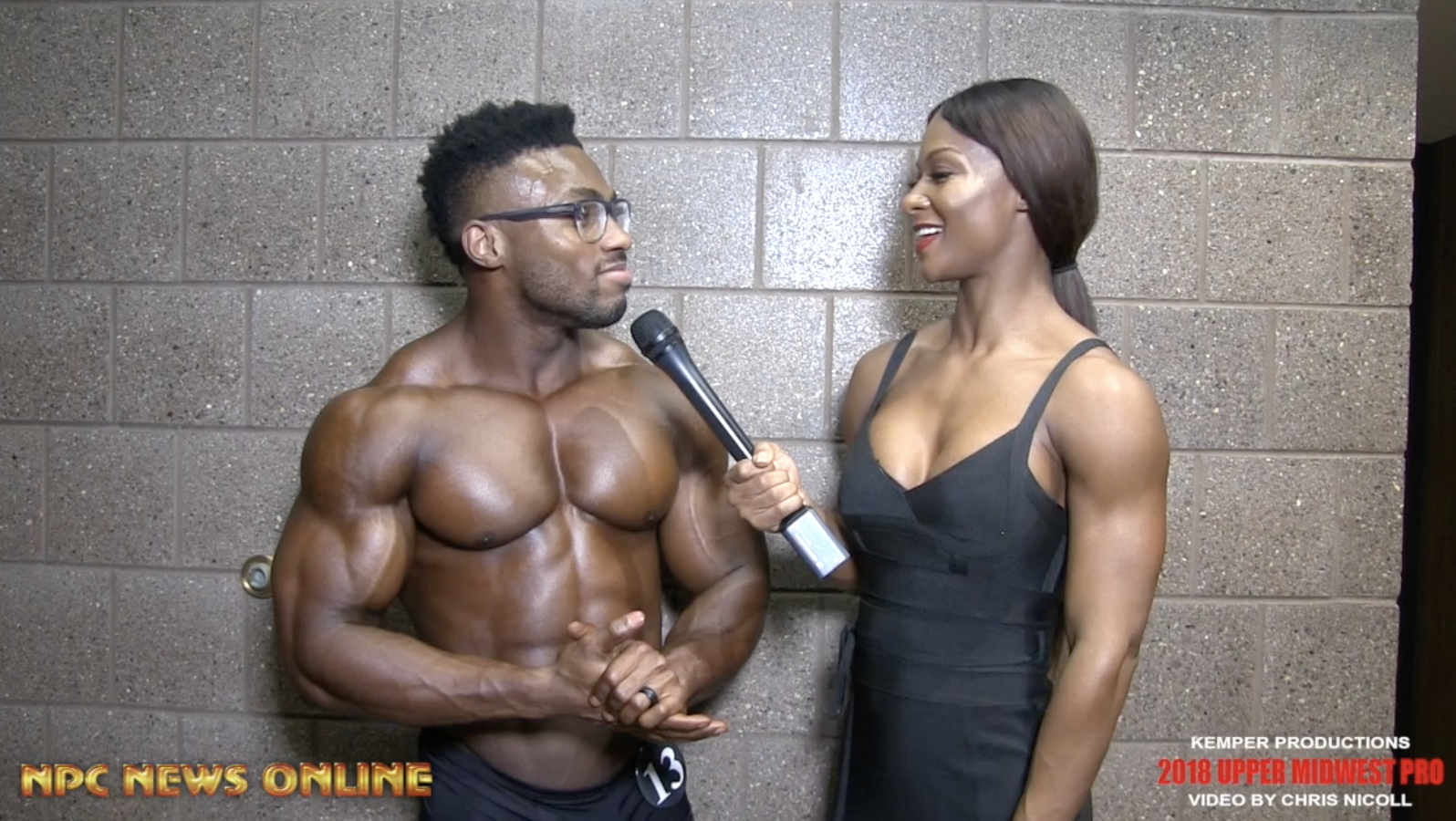 2018 IFBB Upper Midwest Pro Men's Classic Physique Winner Courage Opara. Interviewed By IFBB Pro Candice Lewis Carter